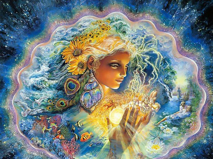 divination shaman goddess