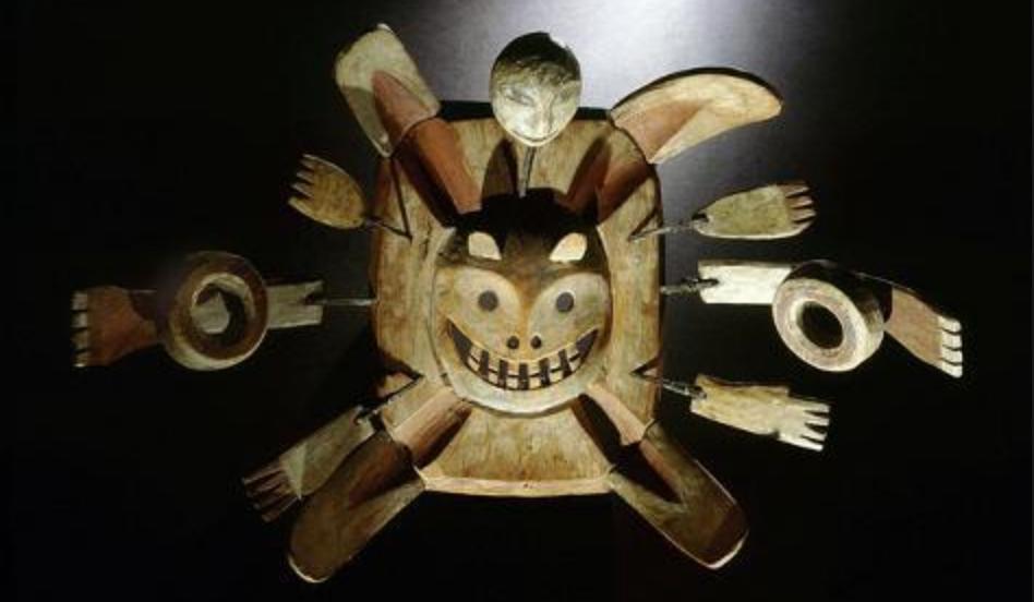 Shamanic-mask